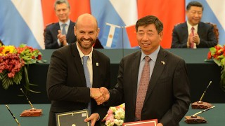 Gobierno Argentino sello Acuerdo en China